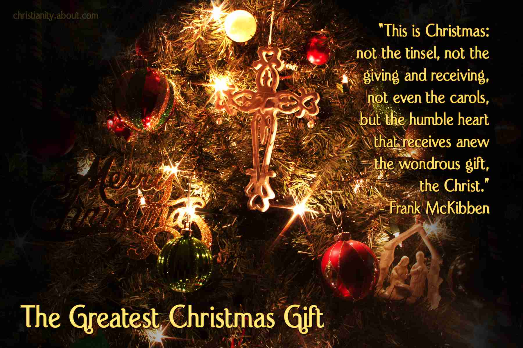 jesus christ is the greatest gift - Christmas Devotional Stories
