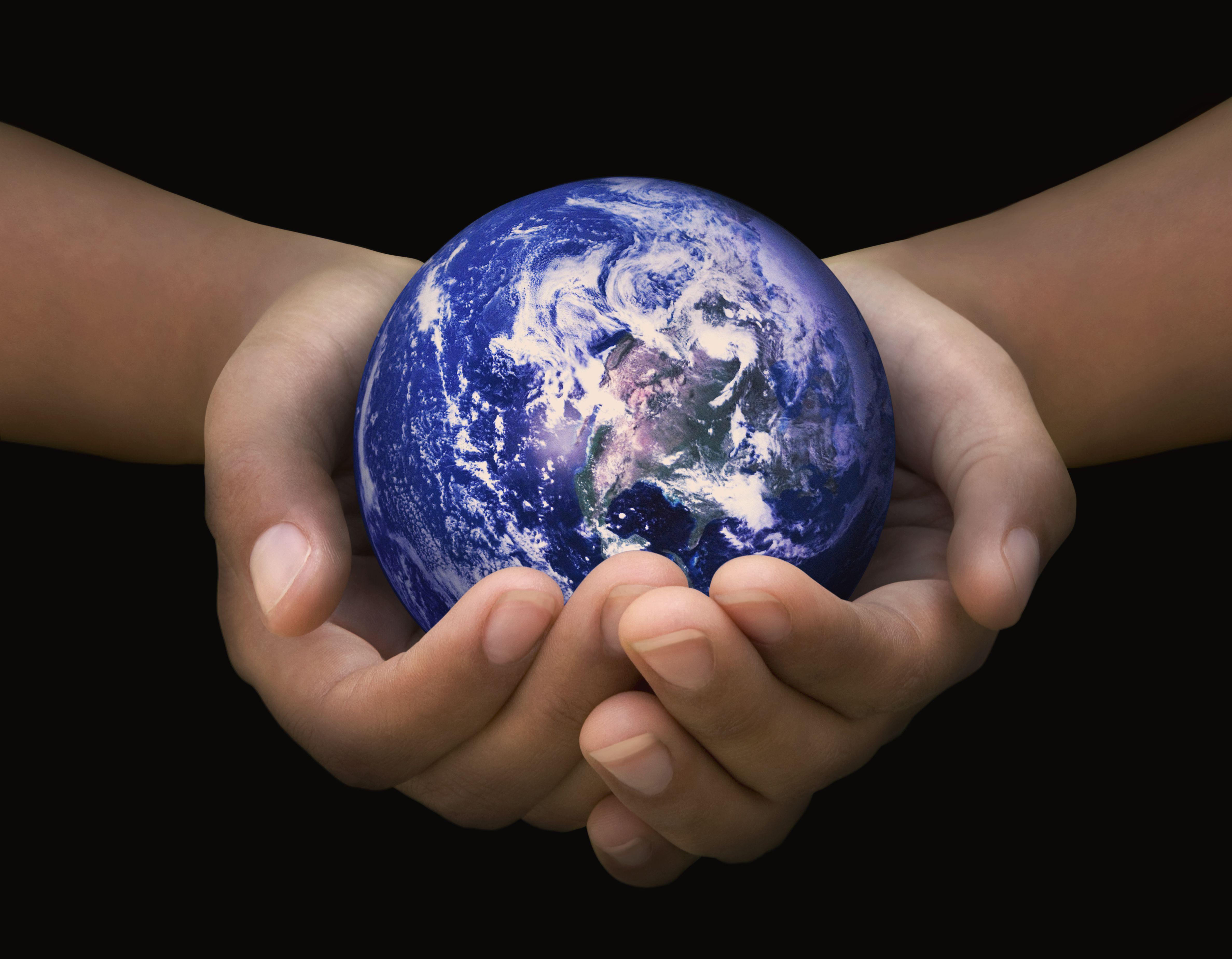 Globe in good hands