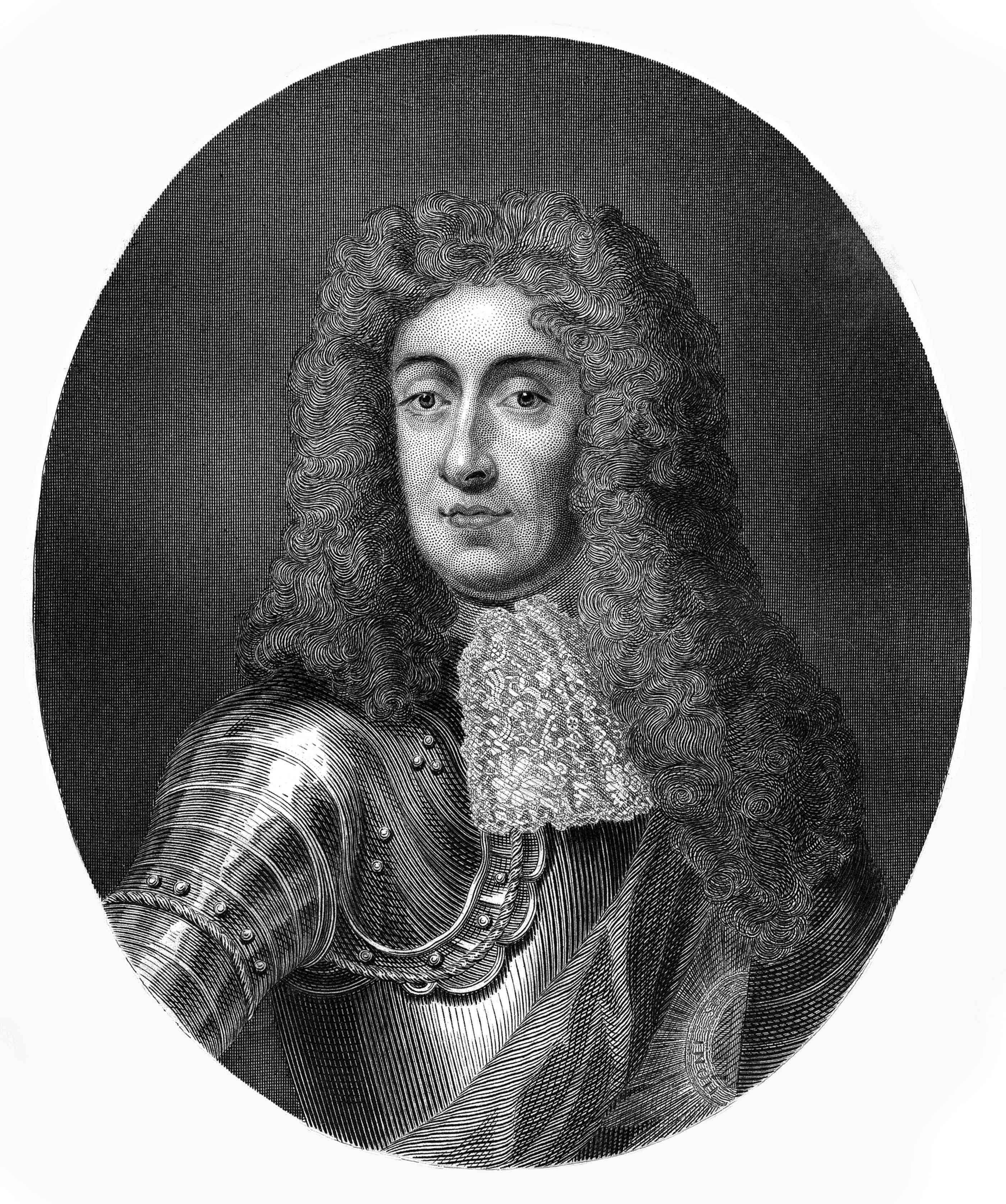 James II, portrait
