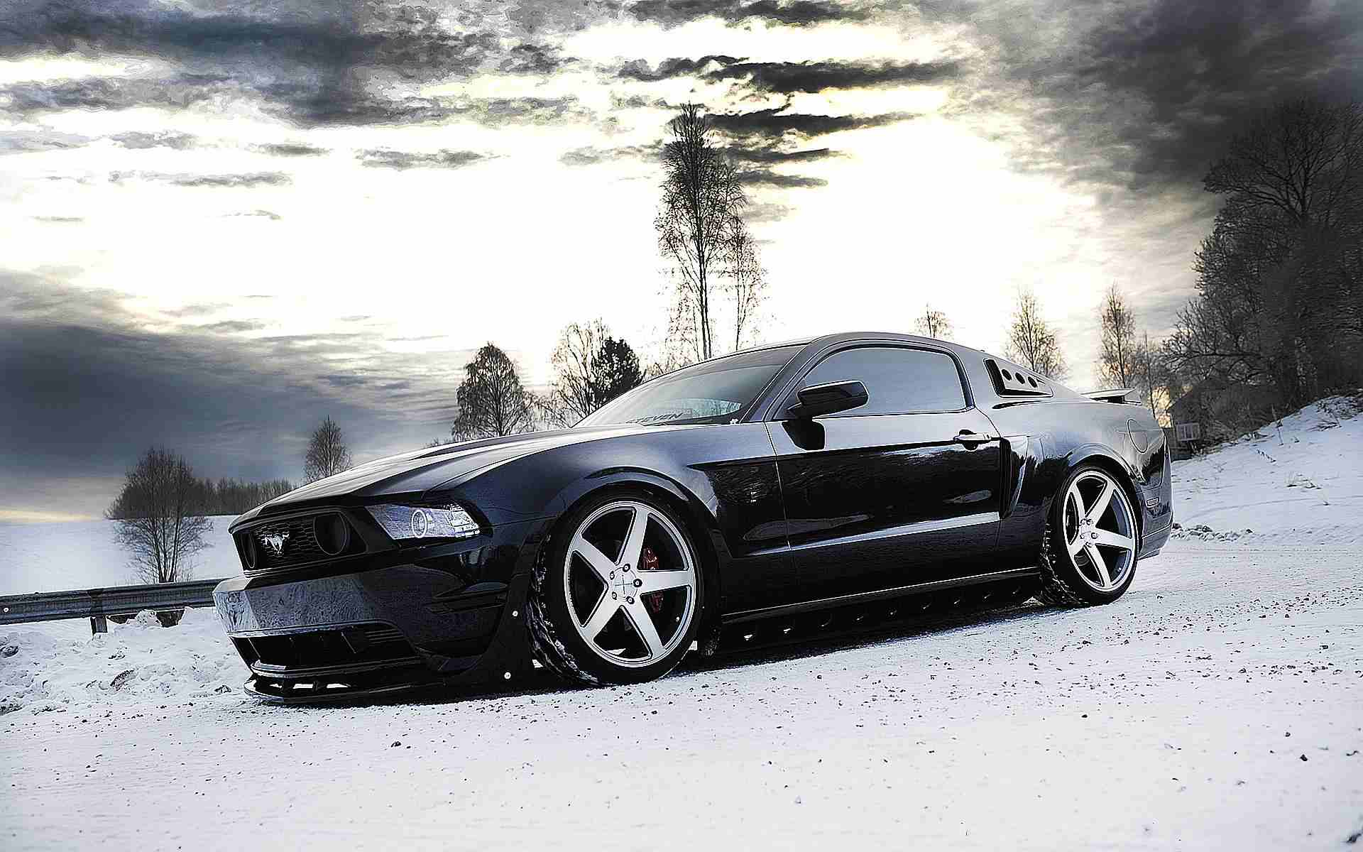 How to Prepare Your Mustang for Winter Driving
