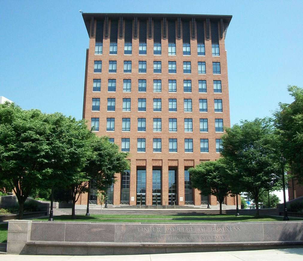 Fisher Hall and the Fisher College of Business