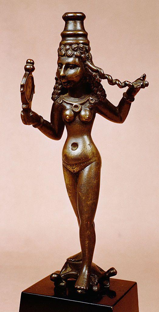 Parthian Bronze Sculpture of Astarte