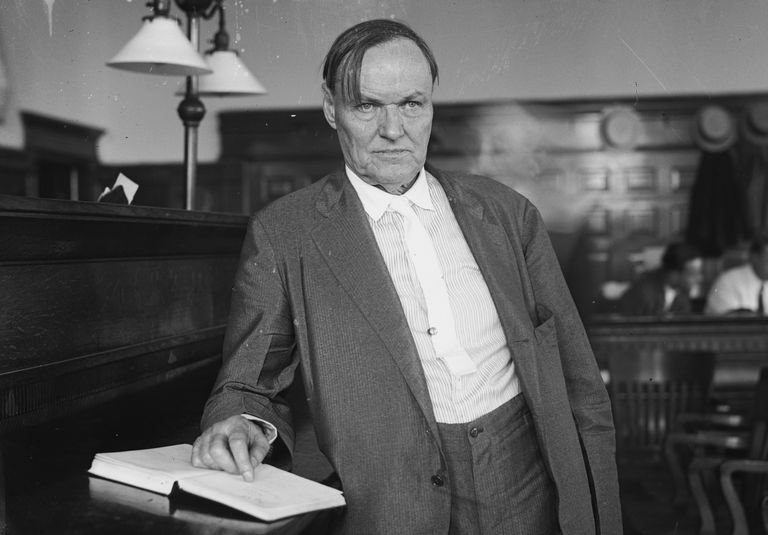 photo of attorney Clarence Darrow