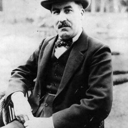 English archaeologist Howard Carter (1874 - 1939)
