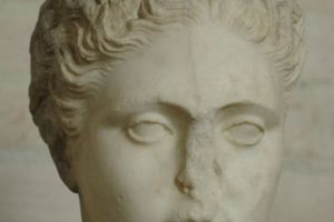 Probably Copied From a Statue of Sappho by Silanion (c. 340–330 B.C.)