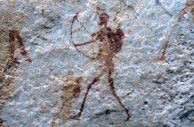 San Bushman Rock Art, Sevilla Rock Art Trail, Traveller's Rest, Cederberg Mountains, Clanwilliam, Western Cape Province, South Africa