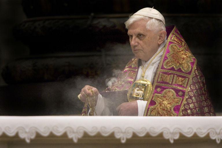Vatican - Religion - Advent - Pope Benedict XVI