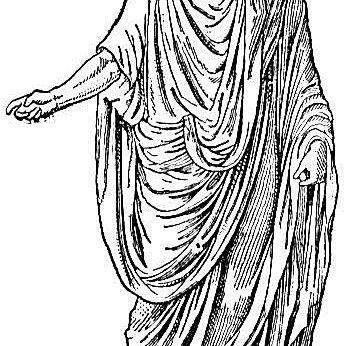 Toga-clad Roman