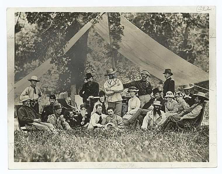 Custer On a Hunting Party