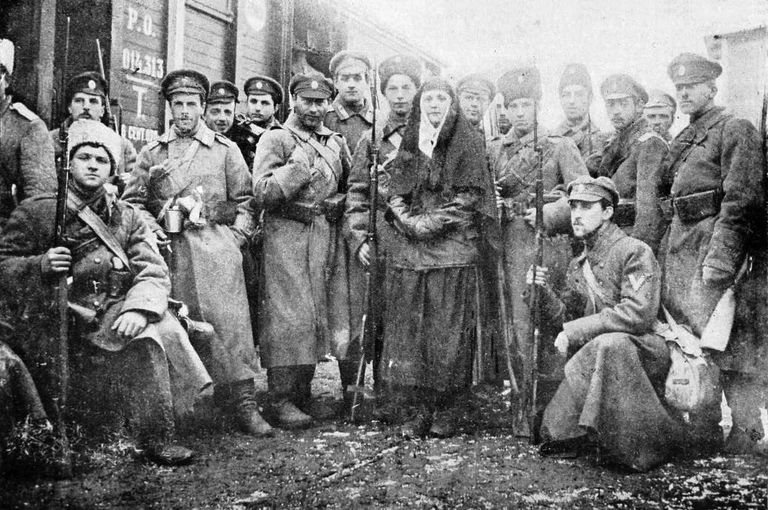 Anti-Bolshevik Volunteers in 1918