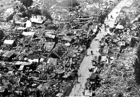 Ruins from Great Tangshan Earthquake
