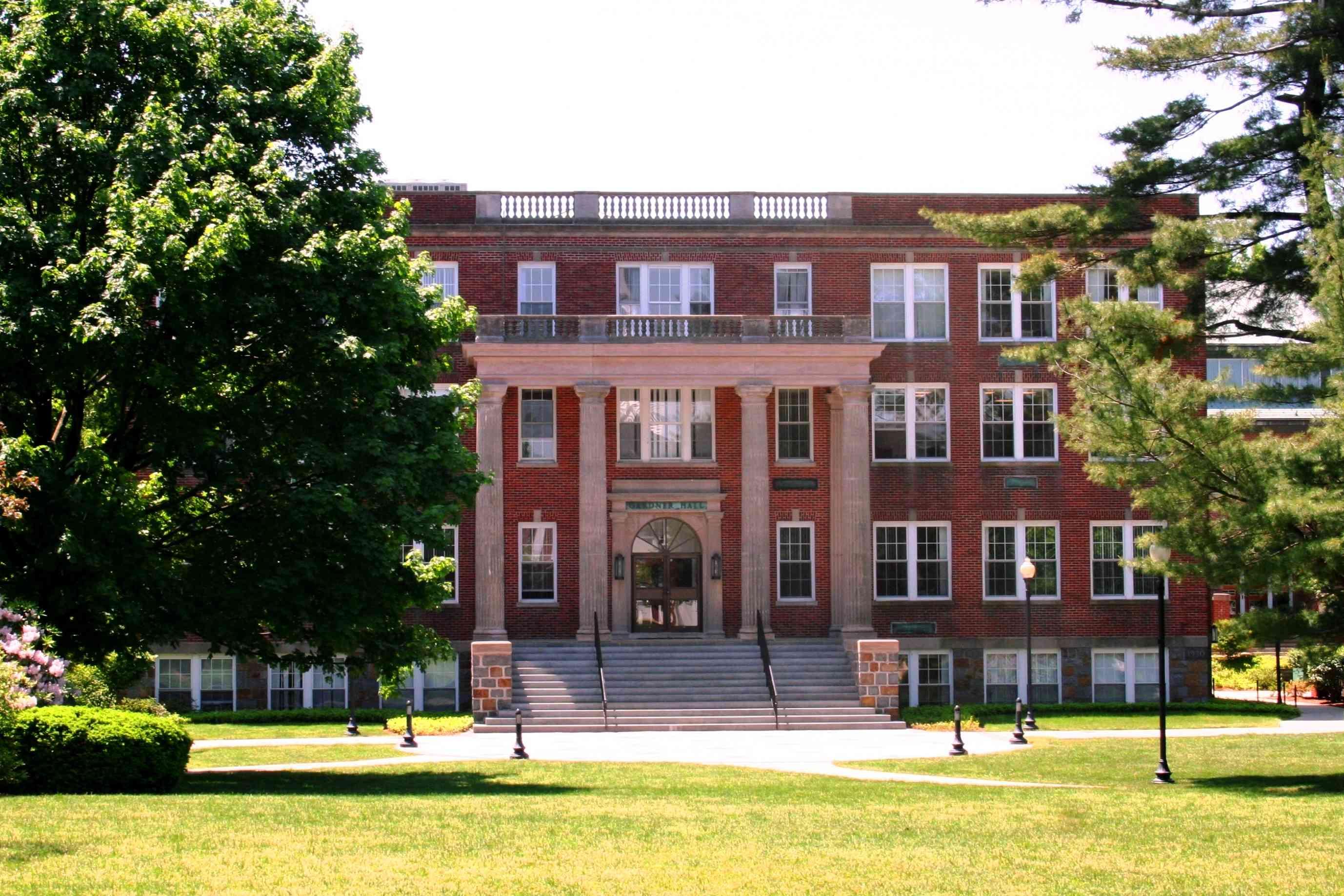 Gardner Hall at Eastern Nazarene College