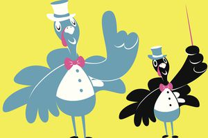 dressed up turkeys