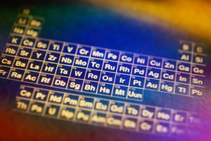 No elements contain the letter J in the English periodic table.