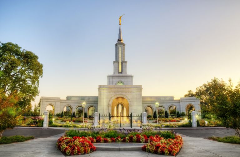Sacramento California LDS Temple