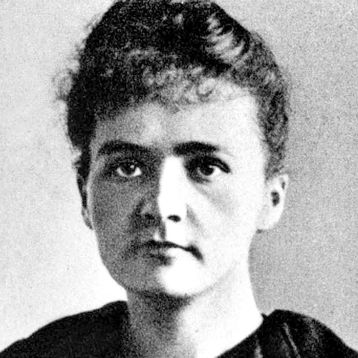 Maria Sklodowski (Marie Curie) in 1894