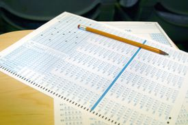 A standardized test and No. 2 pencil