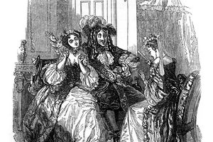 Scene from Les Precieuses ridicules