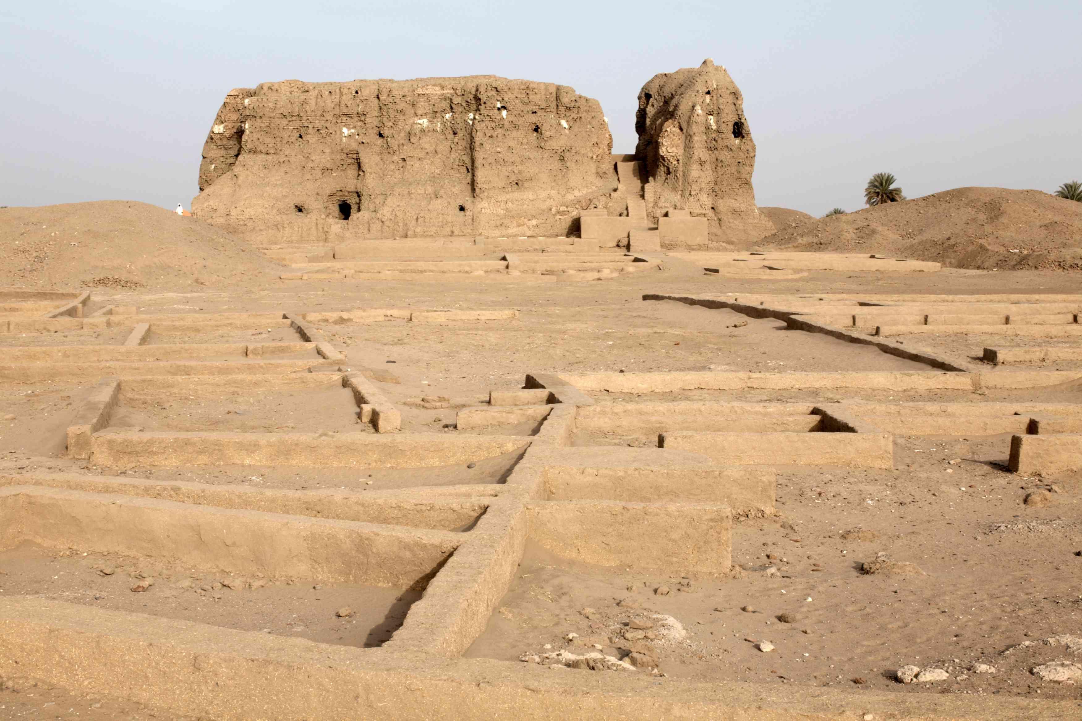 Western Deffufa at Kerma, Sudan