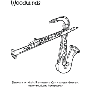 Free Printable Music Coloring Pages For Kids | 303x303