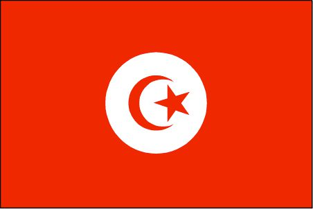 Red Star And Moon Flag