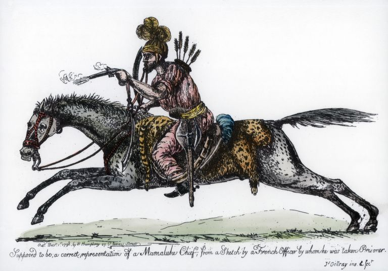 The Fierce Warrior-Slaves Known as the Mamluks