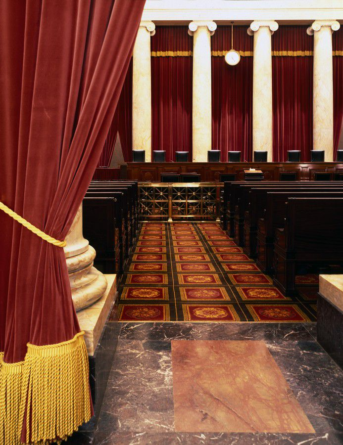 The Chambers of the US Supreme Court