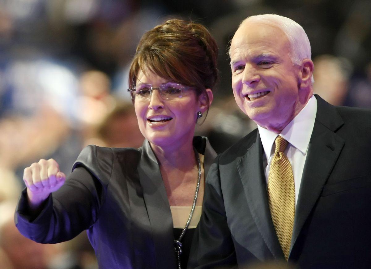Sarah Palin and John McCain - RNC September 2008
