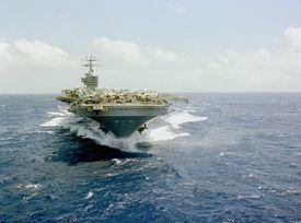 USS Dwight D. Eisenhower aircraft carrier