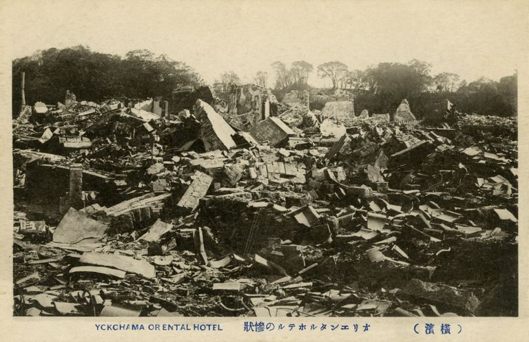 The Great Kanto Earthquake in Japan, 1923