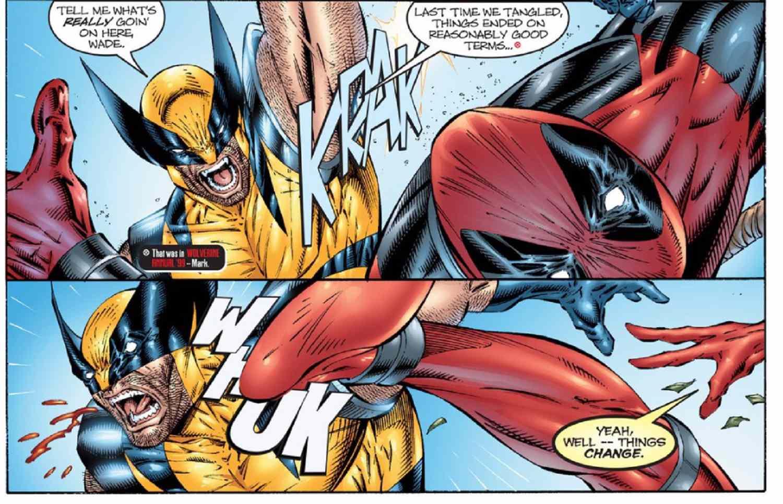 the best deadpool vs wolverine fights