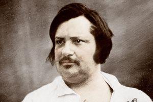 Daguerrotype of Honore de Balzac circa 1845
