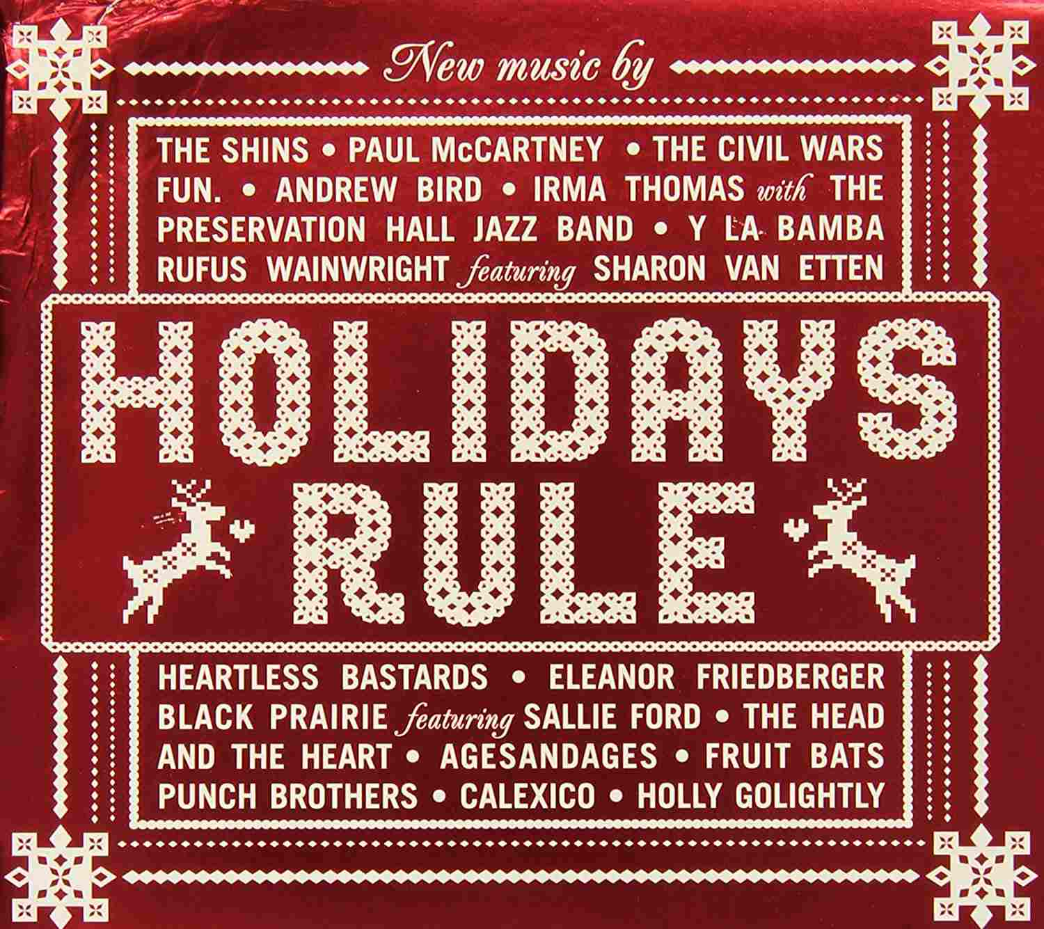 various artists holidays rule - Pop Christmas Music