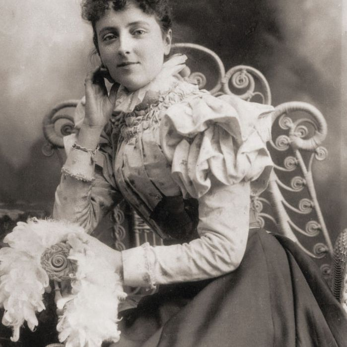 Portrait of Lucy Maud Montgomery in 1891