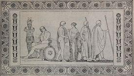 Pope's The Iliad of Homer, books I, VI, XXII, and XXIV