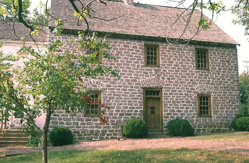 Schifferstadt Architectural Museum à Frederick, Maryland