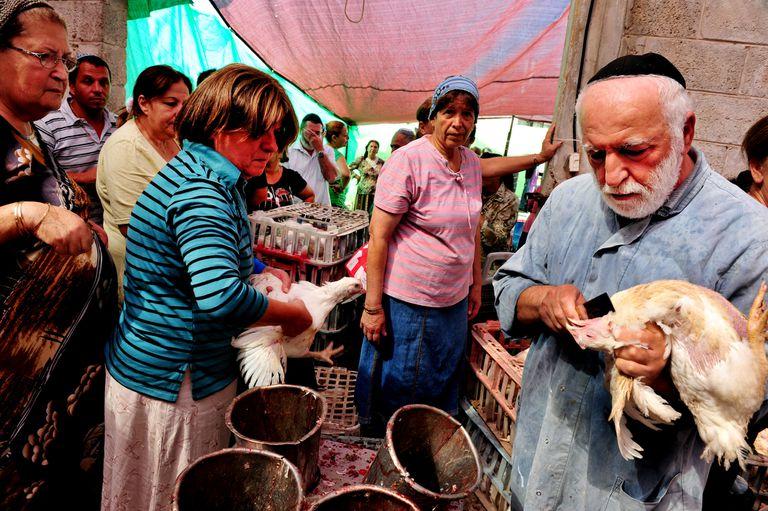 Kaparot Jewish Ceremony Ritual