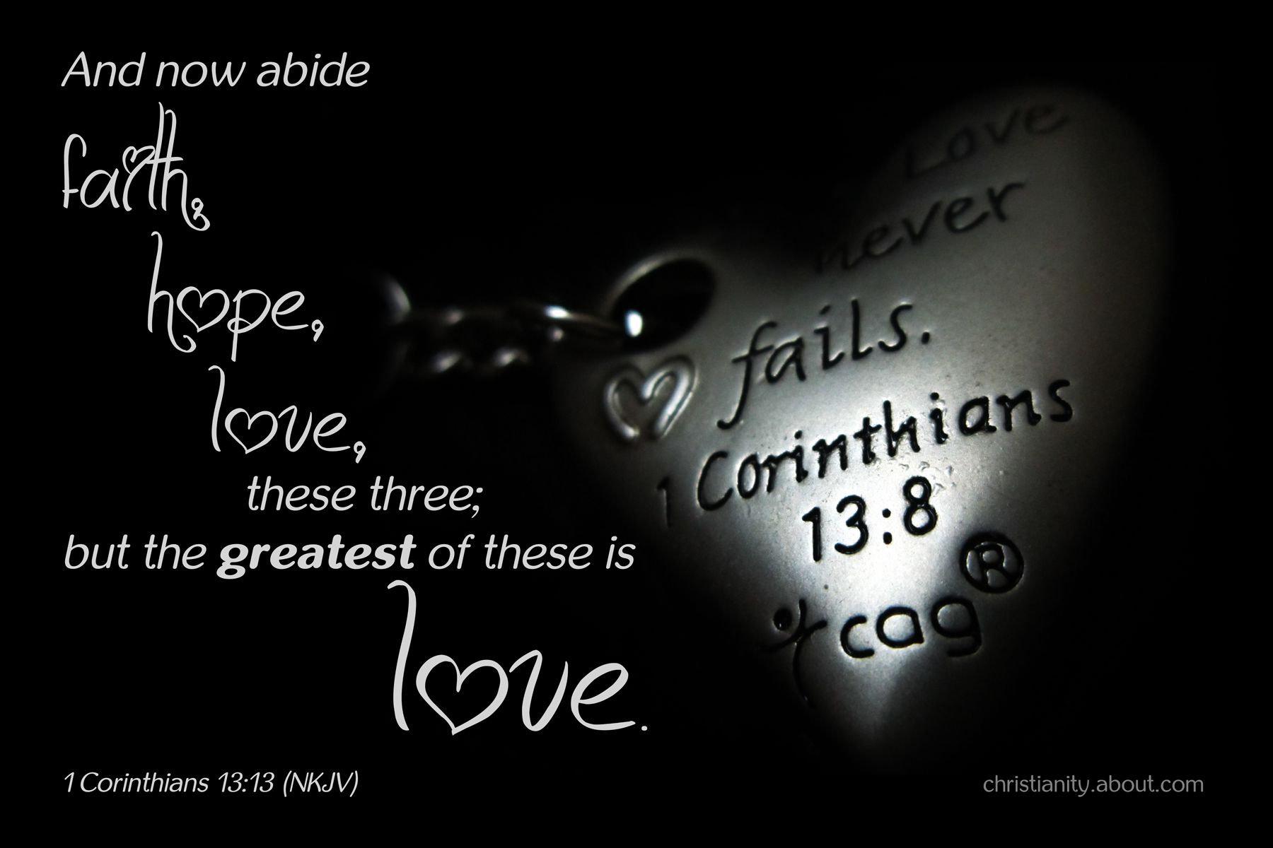 what does the pure love of christ mean