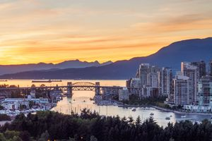 Vancouver, BC Skyline