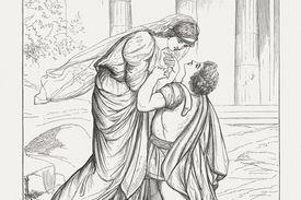 Jocasta and Oedipus
