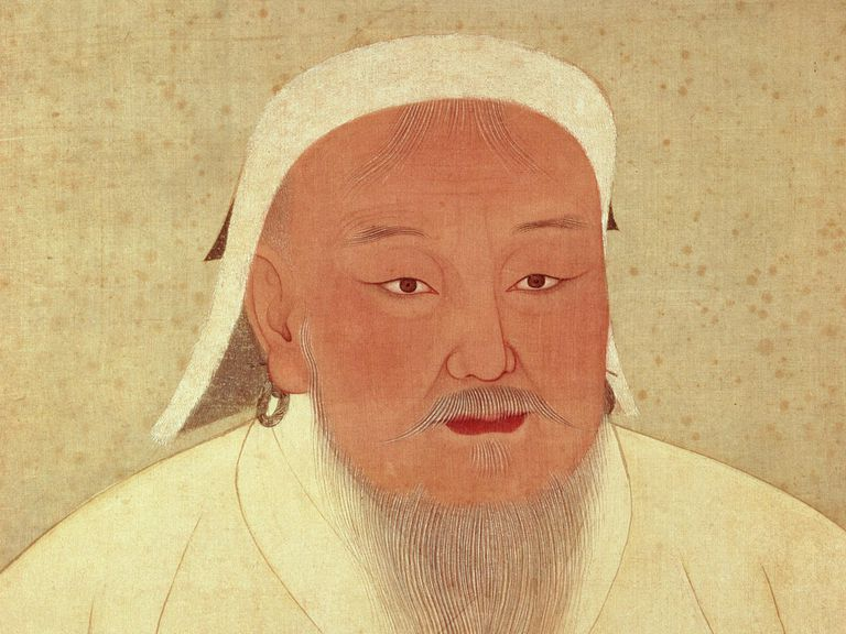 Official court portrait of Genghis Khan