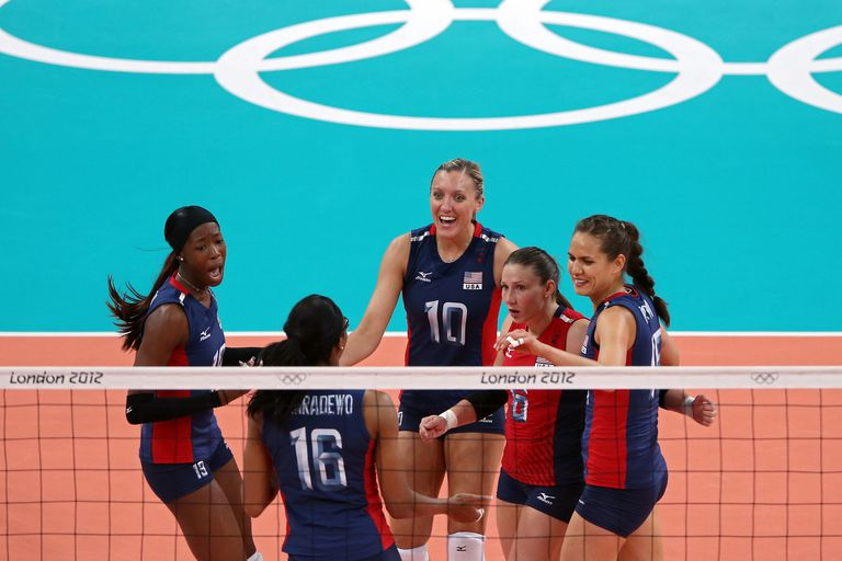 Nicole Davis, Team USA Libero