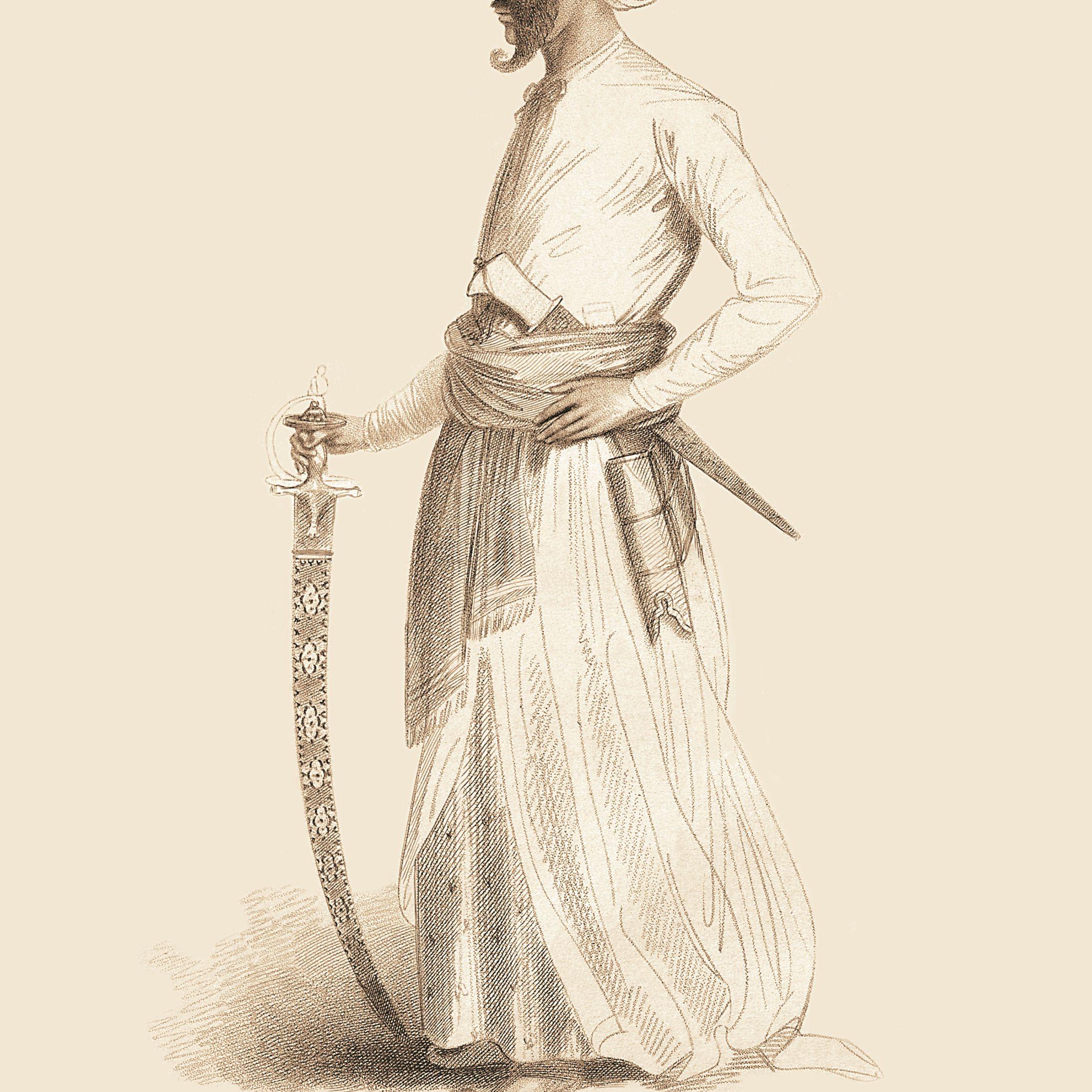 Mohman Khaun, Nabob of Cambay