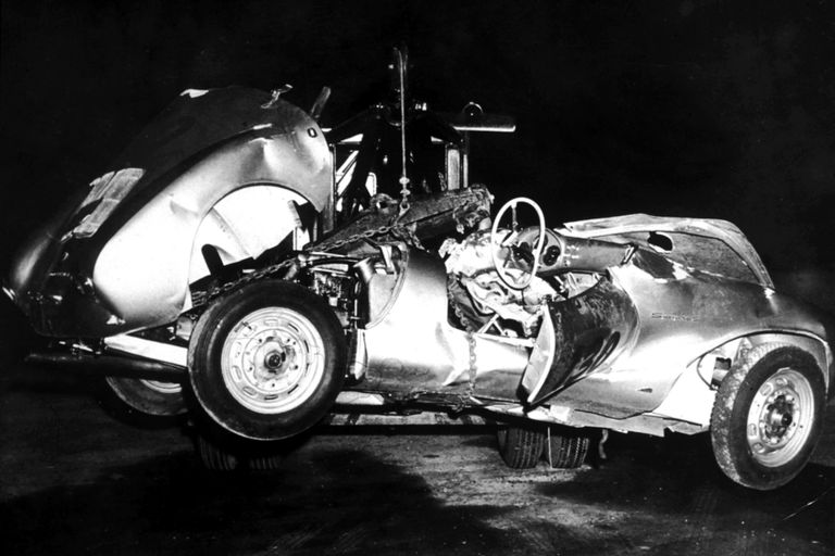 James Dean's wrecked car, Little Bastard