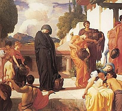 Fragment from Frederic Leighton's Captive Andromache.