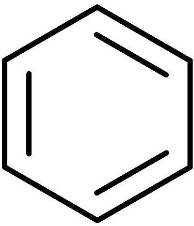 chemical structure of benzene.