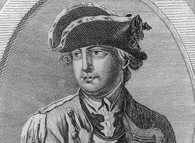 Major General Charles Lee during the American Revolution