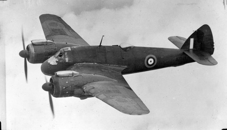 Bristol Beaufighter black and white photo