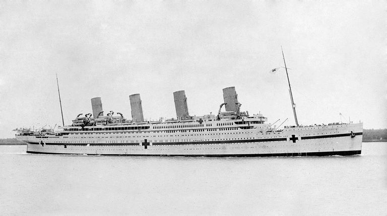The History Of Wwi Hospital Ship The Hmhs Britannic