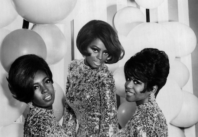 Photo of The Supremes in 1967